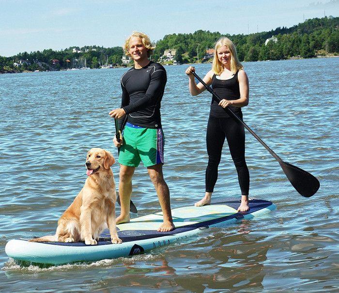 """Aqua marina 12'2"""" Super trip iSUP review"""