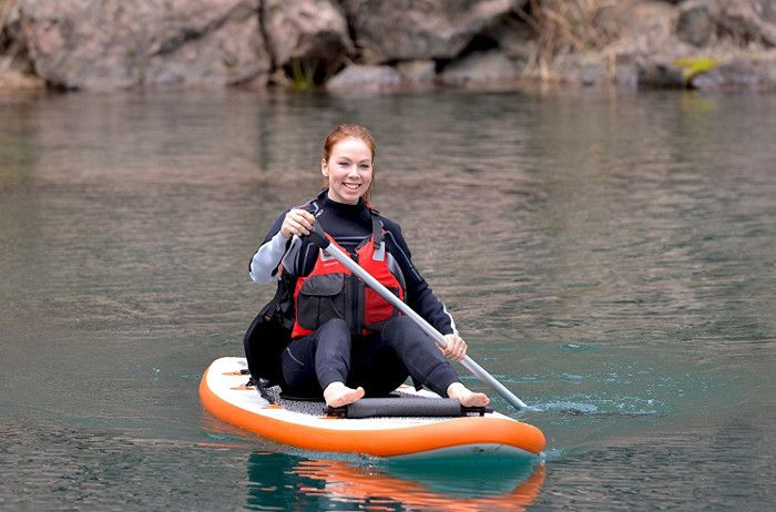 Blue Wave Sports Stingray 10' inflatable paddle board review