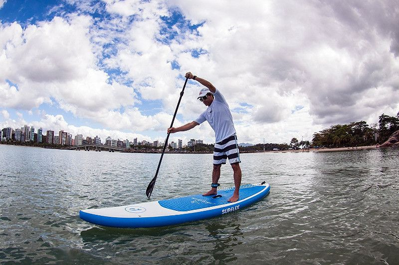 """Supflex Carlos Burle 10'8"""" inflatable stand up paddle board review"""