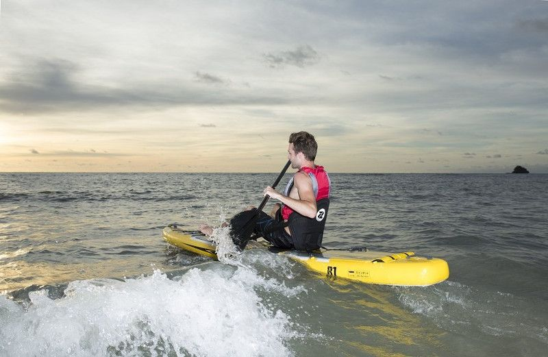 """Zray 12'6"""" R1 inflatable stand up paddle board review"""