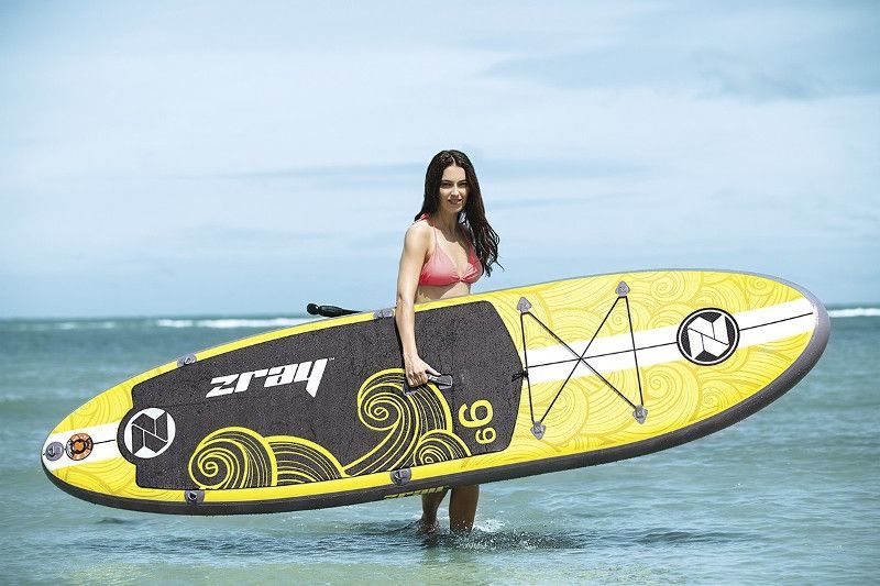 Zray X1 inflatable stand up paddle board review