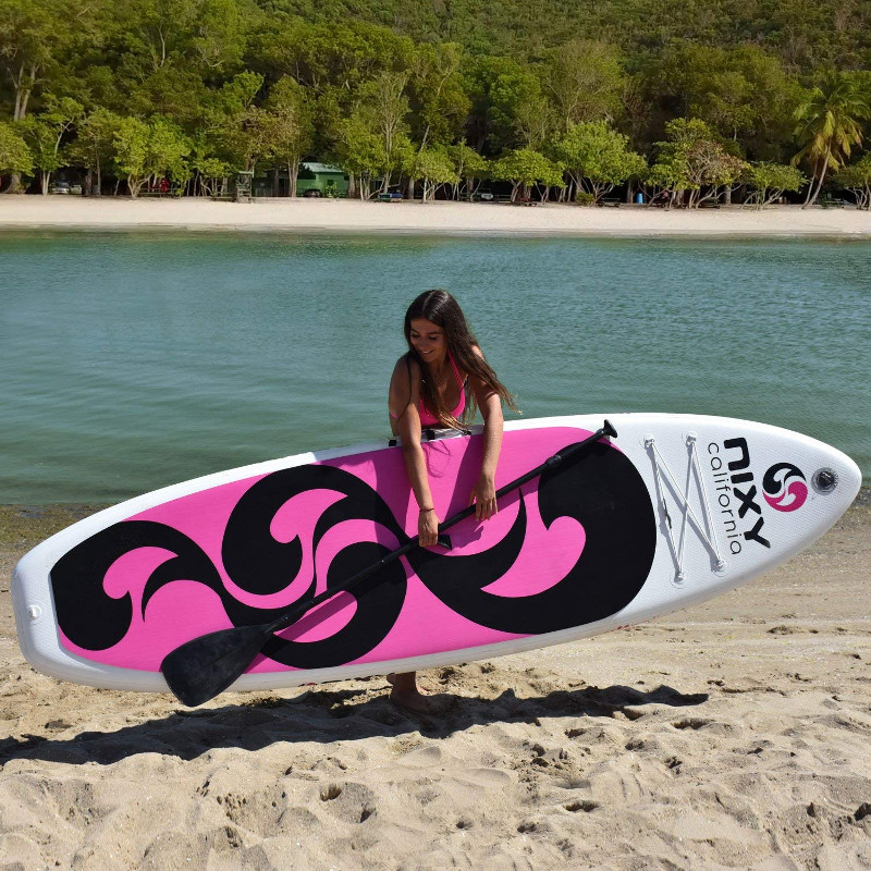 Pink Paddle boards