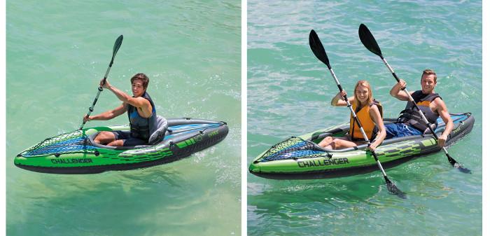 Intex Challenger K1 And K2 Kayak Review