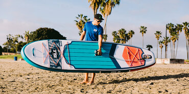 ISLe Pioneer inflatable paddle board Review