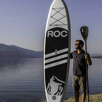 """RoC 10'5"""" Inflatable SUP Board Review"""